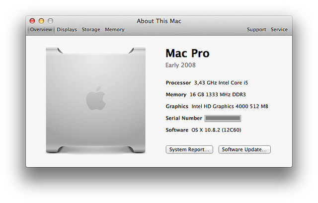 About this Mac Screenshot
